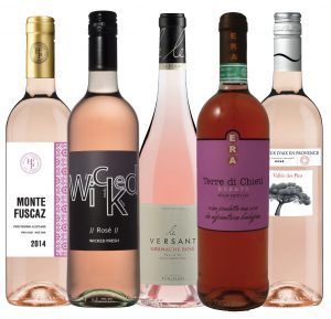 GWI rose wines