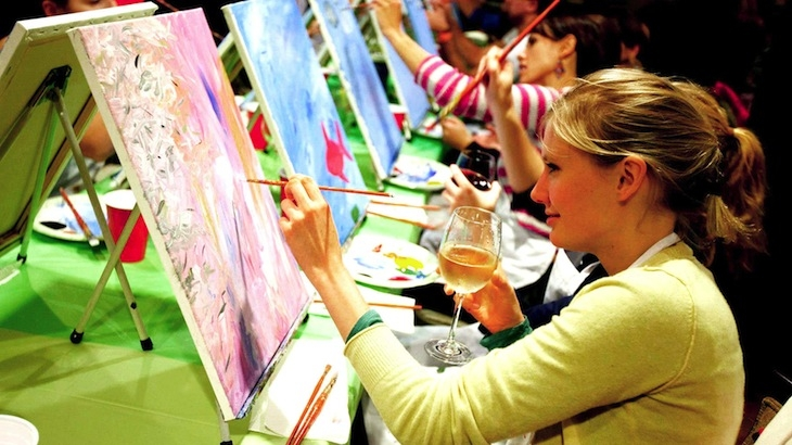 Top 10 bostonian activities to do this summer wicked for Wine and paint boston