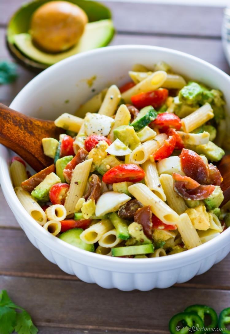 Wicked good pasta salad recipes for summer wicked wines boston ma avocado pasta salad forumfinder Choice Image